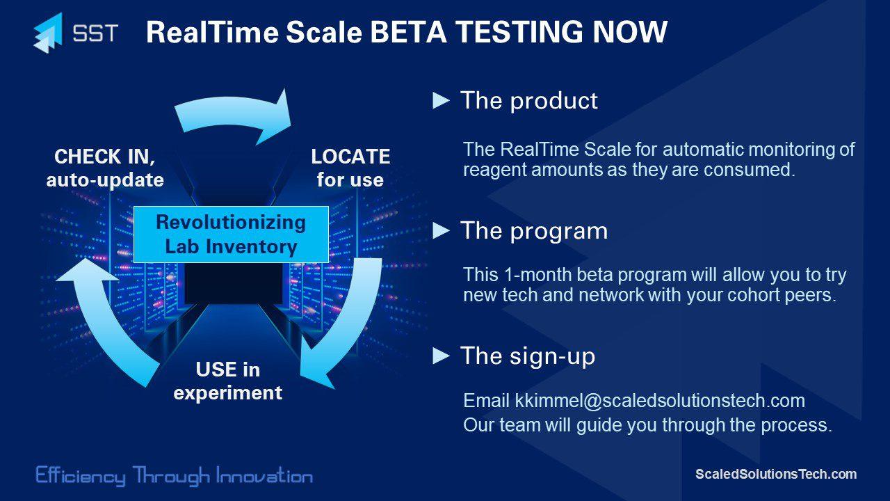 Scaled Solutions Technologies BETA TESTING PROGRAM